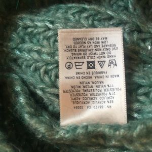 Anthropologie Sweaters - 3/$30 Anthro Knitted & Knotted Green Sweater Sz S